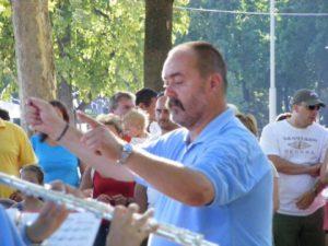 Elhunyt Csincsi Ferenc, Balatonfüred Város Koncert Fúvószenekarának karnagya